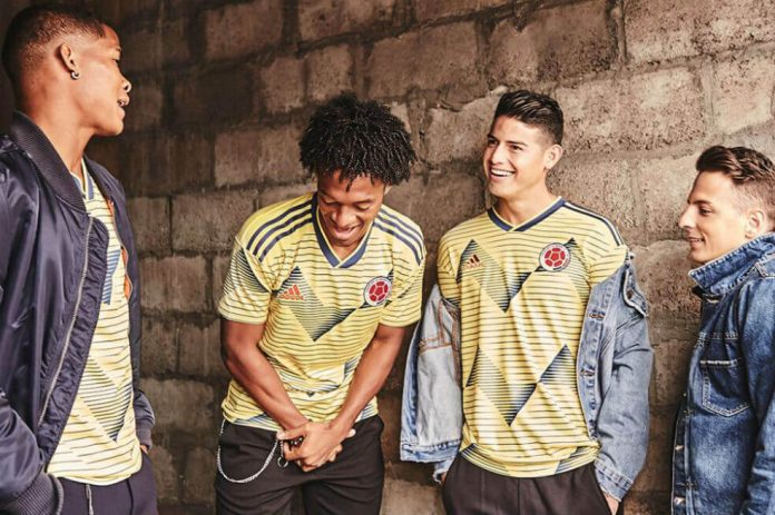 Nueva Camiseta De Colombia 2019 Detail: Camiseta Nueva De La Selección Colombia, Desata Ola De
