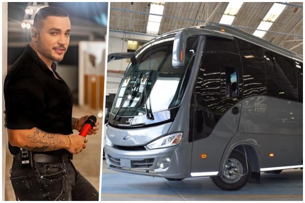 ¡Todo un lujo!, el nuevo bus de Jessi Uribe